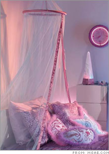 The Livin' Bratz beauty bed canopy is currently available. (Price: $19.99)