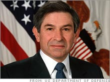 Deputy Defense Secretary Paul Wolfowitz will be nominated for World Bank president by President Bush, according to an administration official.