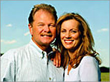 Heavin and wife Diane