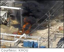 At least 14 people were killed in the explosion Thursday at a BP refinery outside of Houston.