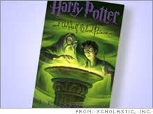 Scholastic said it set a record-breaking 10.8 million first printing of the sixth Harry Potter book, expected to be released on July 16.