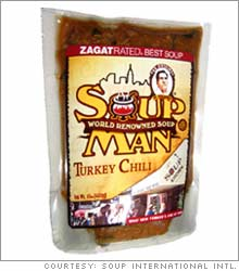 Turkey chili and other flavors will come in a pouch.