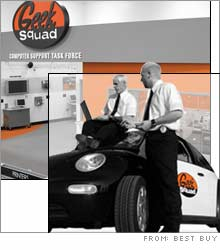 Best Buy recently announced that it's giving its in-home Geek Squad service team their own stores.