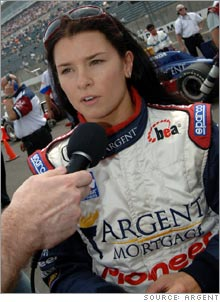 The media attention around Danica Patrick is just what the troubled race needed.