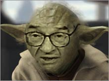 Greenspan as Yoda