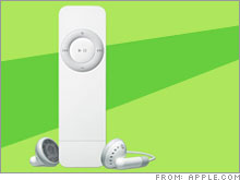 Do the shuffle: There is speculation that Apple may soon unveil an iPod Shuffle with as much as 2GB of memory.