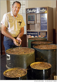 Edmond Knowles and 38 years' worth of pennies
