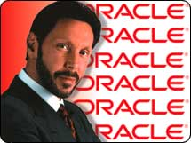 Many investors fear that Oracle CEO Larry Ellison is going to spend too much to buy other software companies.