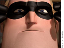 Mr. Incredible may be a superhero, but he's not invincible. Pixar announced Thursday that sales of its