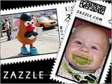 Venture capitalists bet that a desire for customized stamps and apparel will set dotcom startup Zazzle on fire.