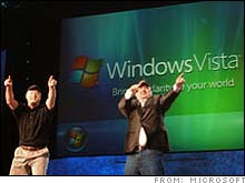 Microsoft has named the next version of its operating system