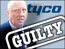 Former Tyco CEO Dennis Kozlowski was convicted of grand larceny in June.