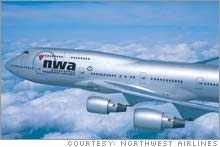 Northwest Airlines management vows it will keep its planes flying despite the strike.