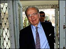 Why is News Corp. CEO Rupert Murdoch smiling? Maybe it's because he's discovered that online advertising is a rapidly growing business.