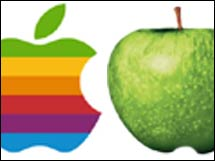 A legal battle between Apple Computer and the Beatles' Apple Corps. may be one reason why Beatles songs aren't available online.