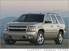 The 2007 SUVs are more powerful and offer better fuel economy, GM said.
