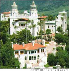 David Duffield's proposed home in Alamo, Calif., would even be bigger than the Hearst Castle down the coast in San Simeon.