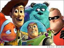 Pixar has had nothing but hits since it started making films in 1995.
