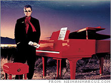 For $1.5 million you can buy an hour-and-a-half private performance by Sir Elton John, his red baby grand piano, will also be yours to keep.
