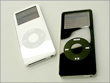 Apple unveiled the iPod nano in September.