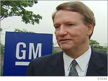 GM Chairman and CEO Rick Wagoner.