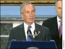New York City Mayor Michael Bloomberg says there will be 'no winners' if city transit workers strike.