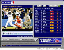 MLB.com has more live streaming video on its site than any other network.