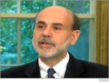 Federal Reserve Chairman nominee Ben Bernanke could be tested by a number of potential financial crisis early in his term.