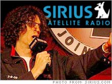 Howard Stern made his satellite radio debut Monday.