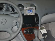 Mercedes-Benz was one of the first automakers to offer iPod integration.
