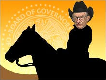 After more than 18 years as Fed chairman, Alan Greenspan will ride off into the sunset on January 31.