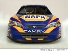 The last thing that GM or Ford needed to see -- Toyota in Nascar.