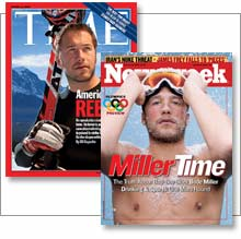Don't expect to see Bode Miller on many magazine covers, or ads, following his disappointing performance in Turin.