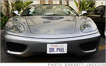 Ferrari 360 Spider owned by Dr. Phil McGraw