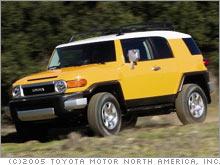 Toyotas FJ Cruiser Truck Or Tonka Toy Mar - 2006 fj cruiser