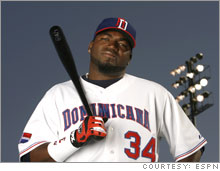 Dominican star David Ortiz of the Red Sox is one of the players attracting fans and viewers to the World Baseball Classic.