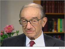 Recently retired Federal Reserve Chairman Alan Greenspan.