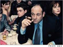 James Gandolfini and other cast members