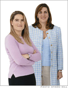 Kathy Sherbrooke (left) and Janet Kraus (right) started and run Circles, a national concierge service.