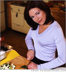 The next Martha? Rachael Ray, star of several Food Network shows, also is the author of several best-selling cookbooks.