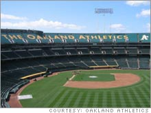 The closing of the upper deck in Oakland has helped the Athletics raise ticket prices and may actually increase rather than decrease ticket sales.
