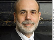 Federal Reserve chairman Ben Bernanke told Congress that energy prices were an inflationary concern but that the Fed may still soon pause in its interest rate-hiking campaign.