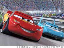 NASCAR is hoping that Pixar's