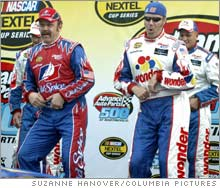 NASCAR has been involved in the development and marketing of the Will Farrell movie