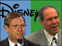 Michael Eisner and Michael Ovitz were two star players that made a disastrous team.