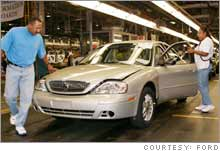 The Ford Atlanta Assembly plant, due to closure in the second half of 2006, was the most efficient North American plant in 2005, according to rankings released Thursday.