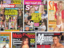 Privately held American Media publishes many well-known celebrity news and fitness magazines.