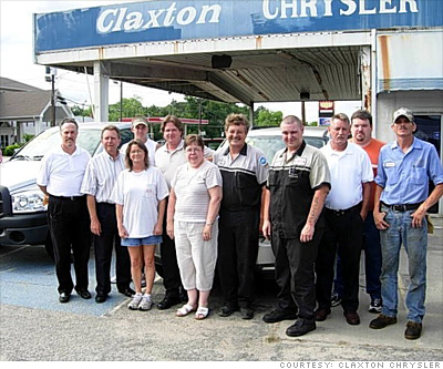 Claxton Chrysler, Dodge and Jeep