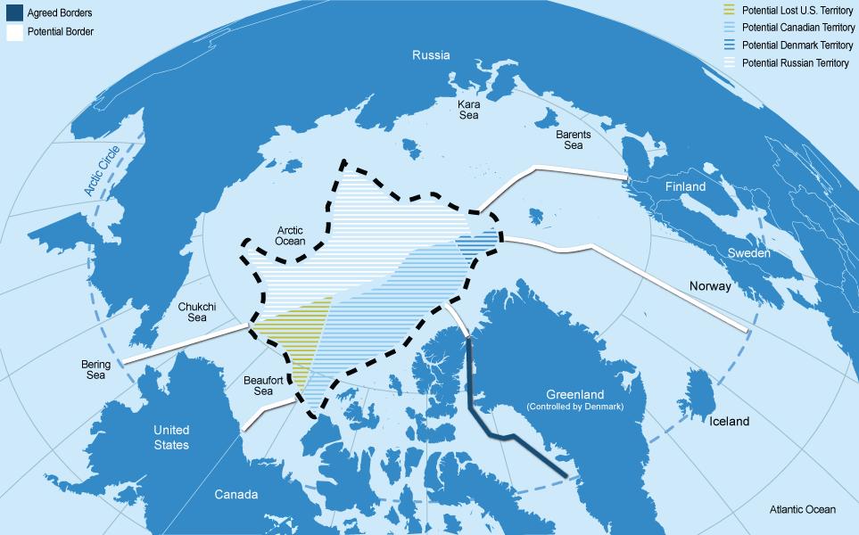 Nations rush to claim the Arctic Ocean CNNMoney