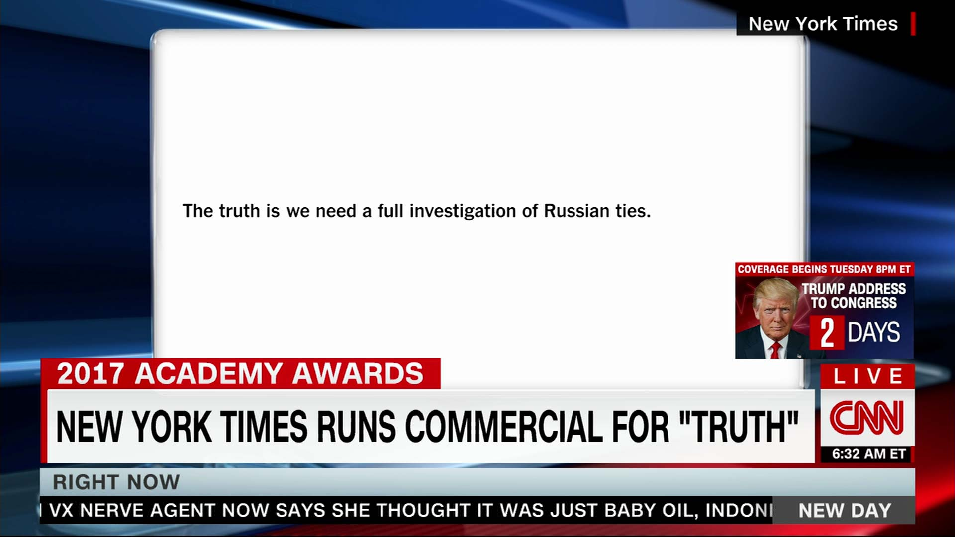 Trump tweets and the TV news stories behind them - CNNMoney